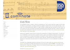 Com-Note project website