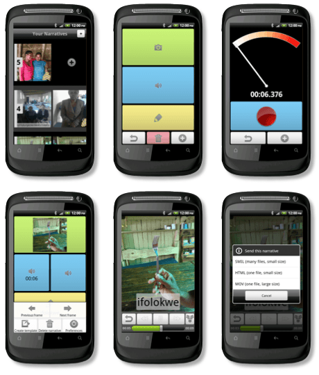 Screenshots from Com-Phone